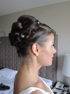 Brautstylung und Hairstyling Beispiel